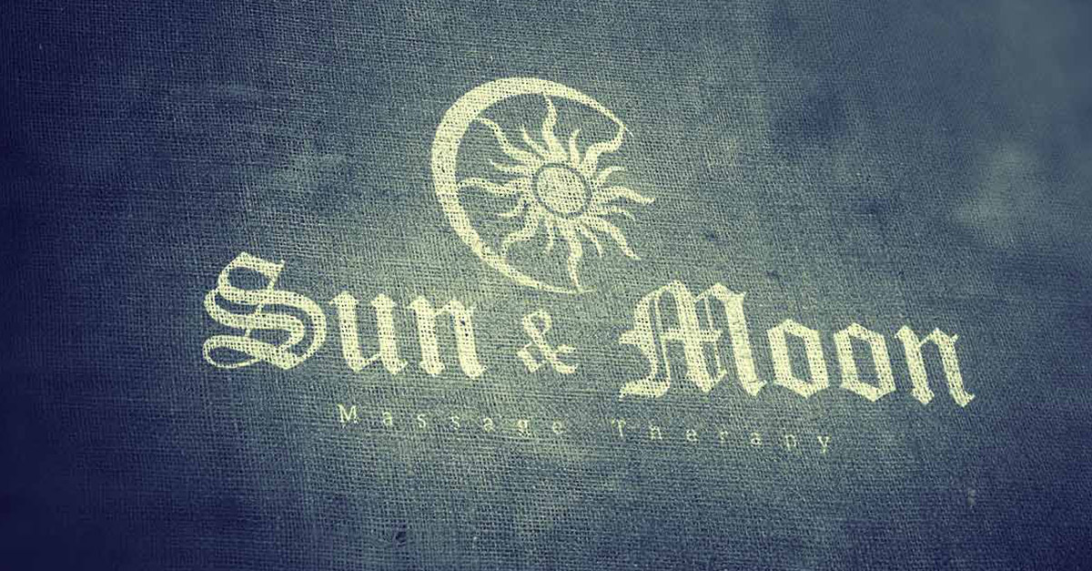 sun and moon logo design introduction image