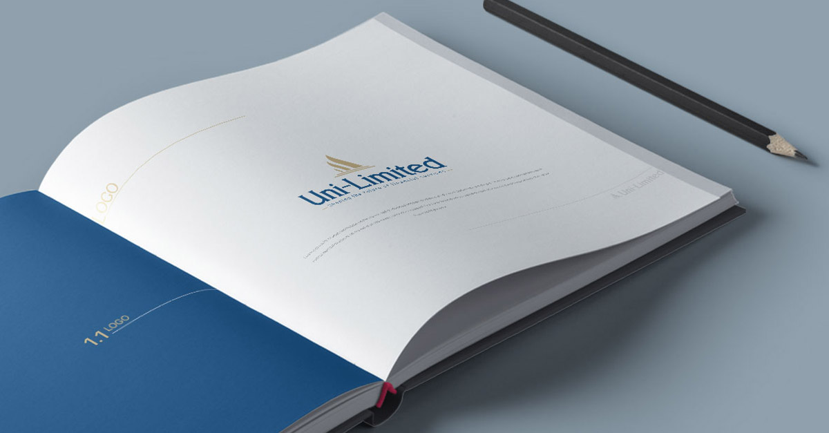 uni-limited sa corporate identity design introduction image